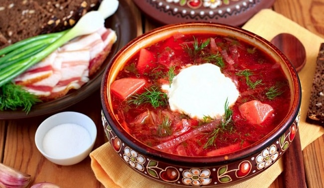 Ukrainian food recipes